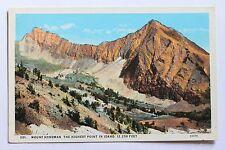 Old postcard MOUNT HYNDMAN, THE HIGHEST POINT IN IDAHO