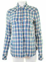 LEE Womens Shirt Size 16 Large Multi Check Cotton  KL03