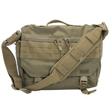 5.11 Rush Delivery Military Combat Messenger Tactical Laptop MOLLE Bag Sandstone