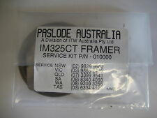 PASLODE CORDLESS GAS FRAMER IMCT / CF325 SERVICE / O-RING KIT (PRE 2004 GUNS)