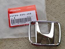 """OEM 99-00 Honda Civic Si EX DX CX B16A2 D16Y8 Front Bumper """"H' Emblem Badge S04"""