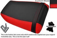 BLACK & RED CUSTOM FITS KAWASAKI NINJA ZXR 750 89-90 (H) REAR SEAT COVER