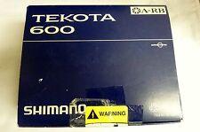 Shimano Tekota 600 Star Drag Reel TEK600 - Free Shipping