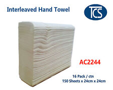 2400 x 2ply sheets interleave hand towel / Paper towel, CHEAP 24 x 24cm