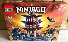 NUOVO SIGILLATO LEGO NINJAGO TEMPIO DI airjitzu (Set 70751) RARO 2028 PEZZI Dojo difficile da trovare
