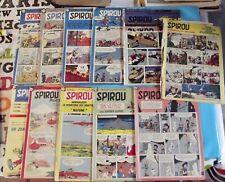 Ancien Album Revue Spirou 11 numéros 1956 1960 L'Ombre du Z Gil Jourdan Vintage