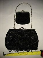 1930s Beaded Purse and coin purse vintage real deal in amazing shape beautiful