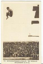 Netherlands Olympische Spiele Olympic Games 1928 Officicial Olympic card nr. 117