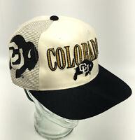 VTG Colorado Buffaloes Sports Specialties Script Snapback Hat 90s Large Logo P