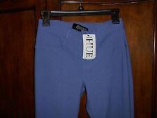 NWT HUE TWILL LEGGINGS MARLIN (BLUE) SIZE SMALL