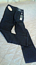 VERSACE COUTURE JEANS ~NWT~ SIZE 27/41~ CERTIFICATE OF AUTHENTICITY~ JET BLACK~
