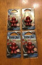 4 Packs Little Joe 96407 Cherry Scent Car Air Freshener Clips to A/C Air Vent
