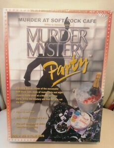 Murder Mystery Party Game Murder At Soft Rock Cafe New & Sealed Game Night