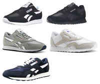 Reebok Classic Nylon Black, White, Grey, Blue Sneakers Trainers Tennis Shoes