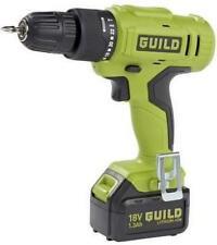Guild 1.3Ah 18v Cordless Hammer Battery Drill 16 Torque Settings