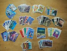weet bix cards - huge lot of 140 cards from 14 different series