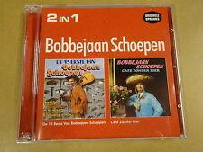 2-CD / BOBBEJAAN SCHOEPEN - 2 IN 1 - DE 13 BESTE / CAFE ZONDER BIER