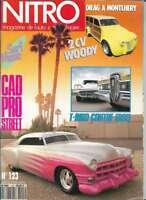 Nitro Magazine n°123 Aout 1991 (avec poster)