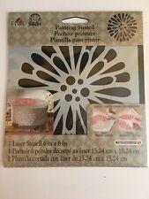 FolkArt Stencil - Gerber Daisy - 6 x 6 inches   fnt