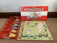 Vintage Waddingtons Monopoly Game Classic red box 99% Complete Never Played