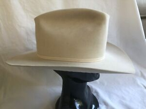 Stetson 10X Beaver Cowboy Hat - 7 1/4 - Silverbelly