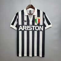 1984-85 Juventus Home Retro Soccer Jersey