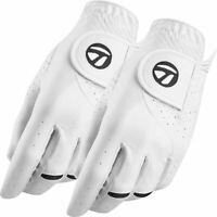 TaylorMade 2020 Stratus Tech 2-Pack Synthetic Leather Golf Gloves