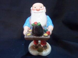 JBX04 John Beswick -  Merry Christmas Father Christmas with Pudding