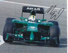 MARCUS ERICSSON SIGNED AUTOGRAPHED CATERHAM F1 RACING 8X10 PHOTO PROOF