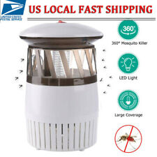 Electric UV LED Mosquito Killer Lamp Outdoor Indoor Fly Bug Insect Zapper Trap