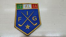 Patch, ricami, federazioni italiane, Golf, FIG - termica P018T