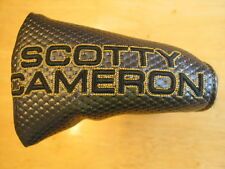 Scotty Cameron 2014 Select Black Milled GoLo Mid-Mallet Putter Head Cover NEW