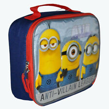 Insulated Lunch Bag Despicable Me The Minions Kids School Picnic Lunch Box NEw
