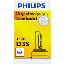 Philips Genuine D3S 42302C1 Xenon HID Upgrade Headlight Bulb, Made in Germany