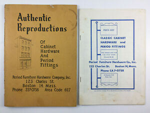 Period Furniture Hardware Company Vintage Catalog And Price List Boston 1964