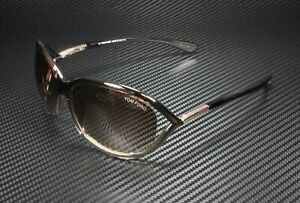 Tom Ford Jennifer FT0008 38F Bronze Gradient Brown 61 mm Women's Sunglasses