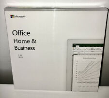 Microsoft Office Home and Business 2019 / PC / DVD / Genuine / New & Sealed