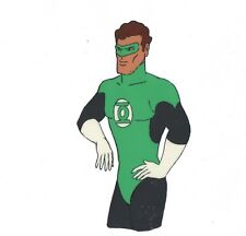 Green Lantern Superfriends Animation Cel and drawing Hanna Barbera 78 or 84/5