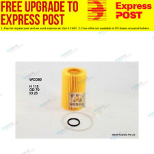 Wesfil Oil Filter WCO80 fits Toyota Land Cruiser Bundera 4.5 TD 24V (VDJ76, V