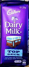 Australian Import Cadbury Dairy Milk Dream Top Deck Chocolate Bar 200g