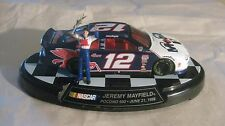 Nascar #12 Jeremy Mayfield Signed 1998 Ford Taurus 143 Scale Diecast 1999 dc911
