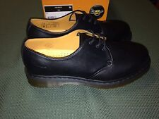 Dr Martens Black Shoes Size Men 12 US 3 Eye Reg Toe New Made in China
