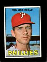 1967 TOPPS #14 PHIL LINZ EX PHILLIES  *XR10345
