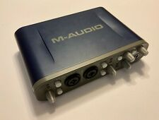M-Audio Fast Track Pro USB Audio/MIDI Interface - in Tested & Working Condition