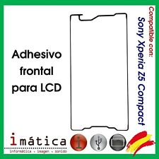 ADHESIVO PANTALLA LCD DELANTERO PARA SONY XPERIA Z5 COMPACT E5823 DELANTERA MINI