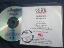 Aventura – Obsesion Label: Hit Mania Records UK Promo CD Single