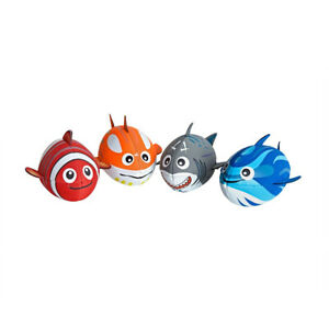 """Zoggs Baby Fish Football, Grey or Blue or Orange or Red, 6"""" Long 39-41cm"""