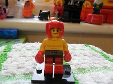 Lego Mini-Figure -  Genuine Series 5 - Boxer - Used/Played With