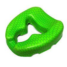 Ergonomic Beehive Pattern Face Rest Memory Foam Pillow For Massage Table Green