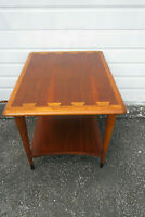 Mid Century Modern Acclaim Dovetailed Side End Table by Lane 1271